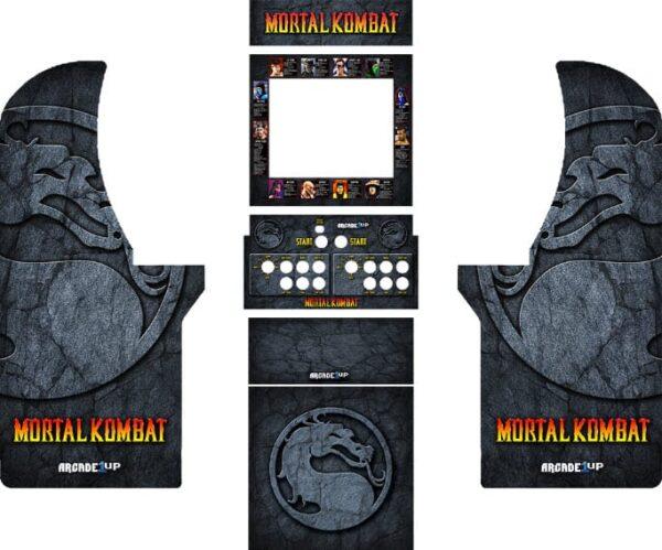 1up arcade Mortal Kombat