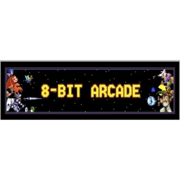 8 Bit Arcade Marquee