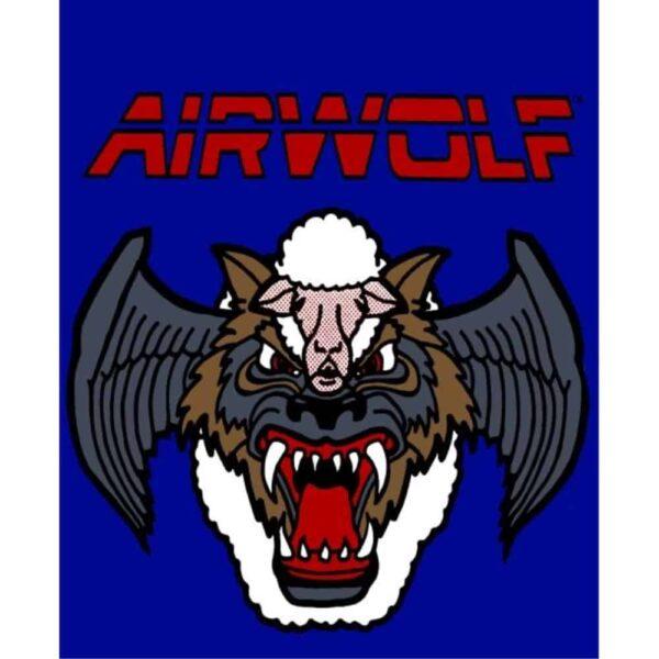 Airwolf Sideart