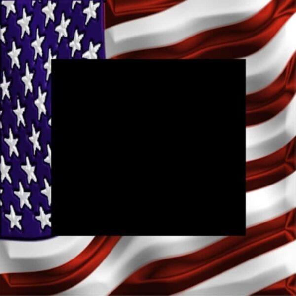 American Flag Bezel