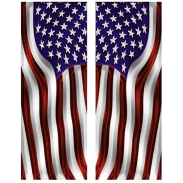 American Flag Side Art