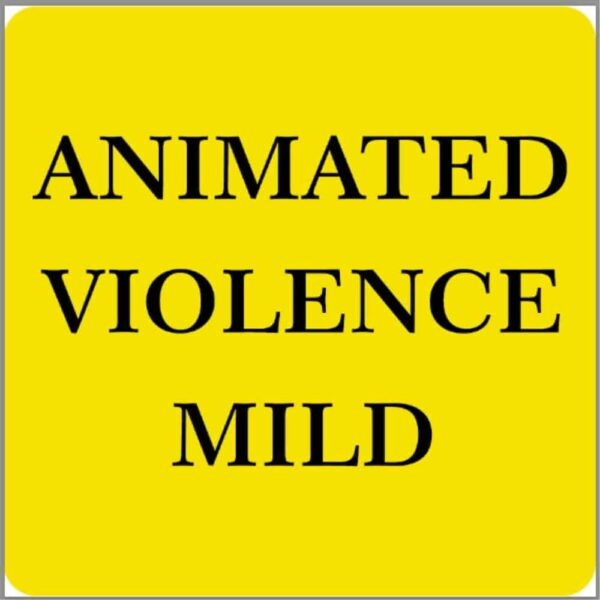 Animated Violence Mild Sticker