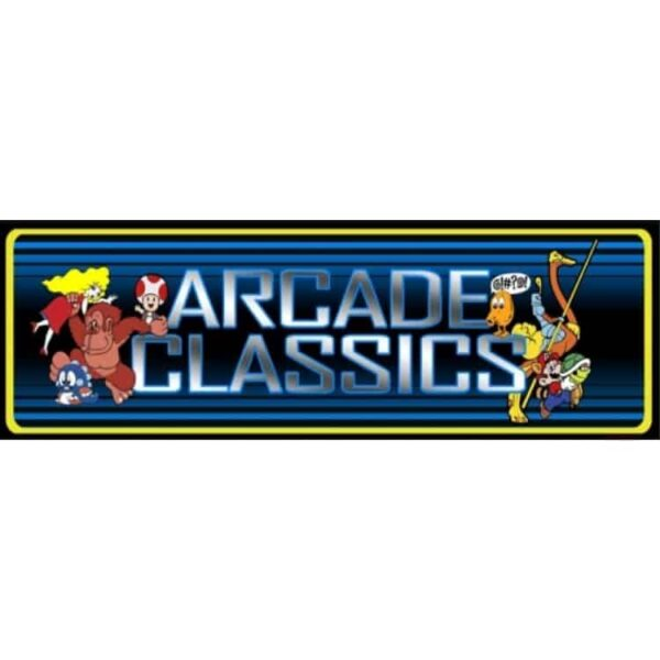 Arcade Classics BLUE Marquee