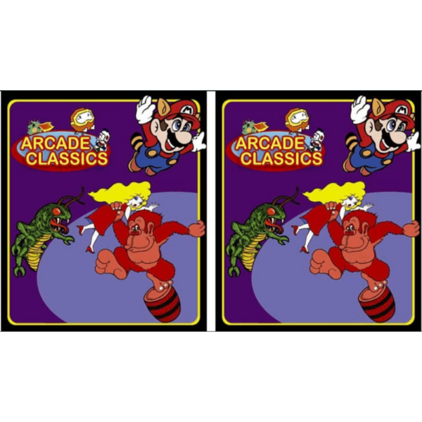 Arcade Classics PURPLE side art