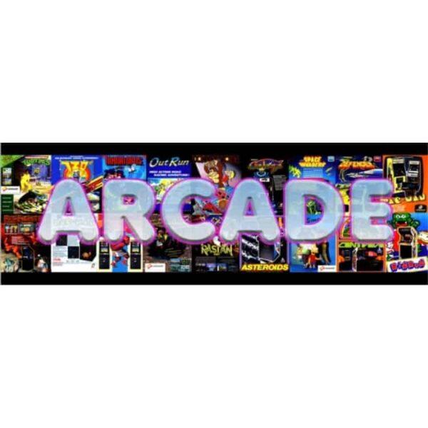 Arcade Flyer Marquee