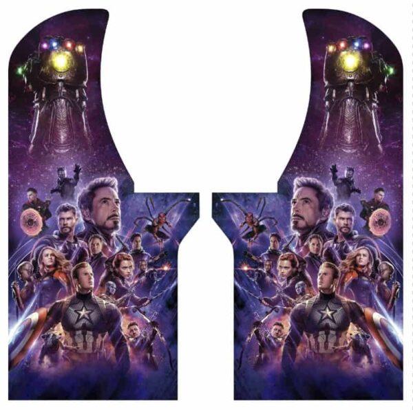 Avengers side art