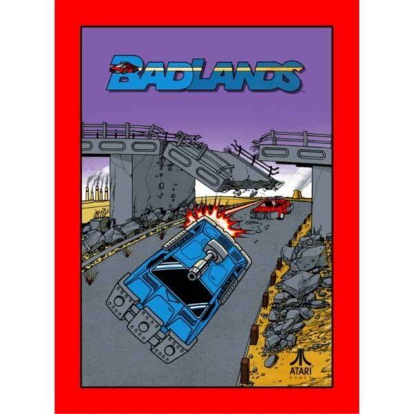 Badlands 1989 sideart