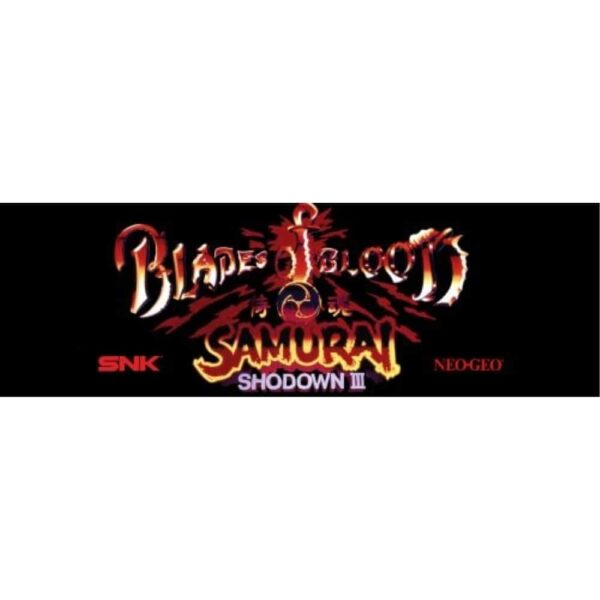 Blades of Blood Samauri Showdown III Marquee