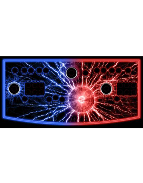 Blue Red Lightning Classic Mameroom 1