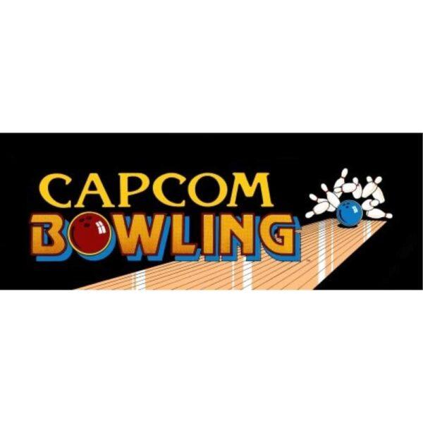 Capcom Bowling Marquee