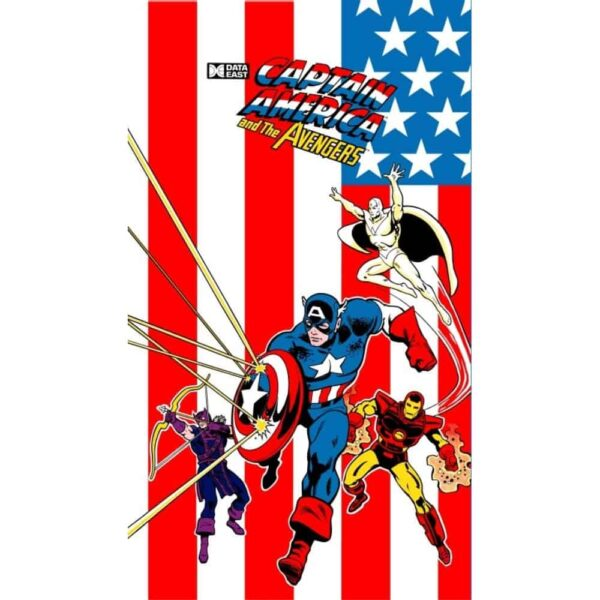 Captain America and the Avengers sideart side2