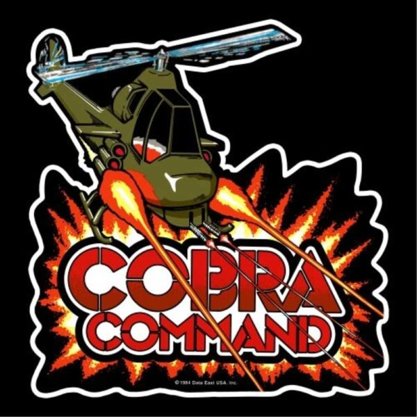 Cobra Command Sideart contour cut