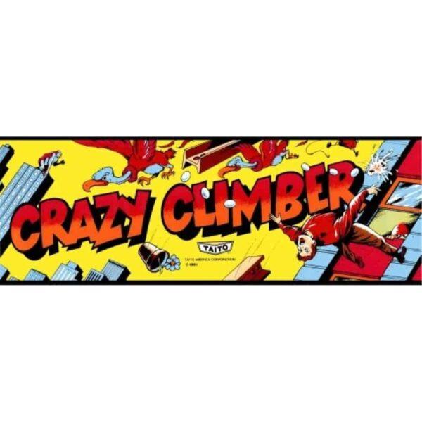 Crazy Climber Marquee