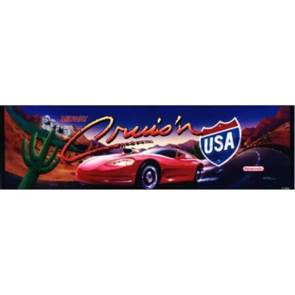 Crusin USA Marquee midway