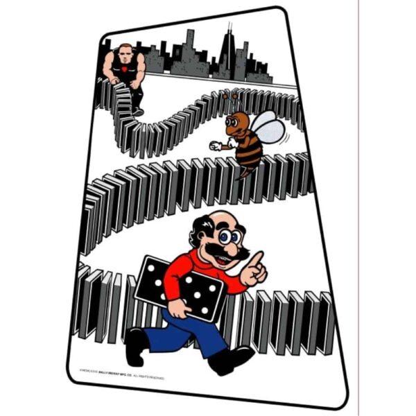 Domino Man sideart