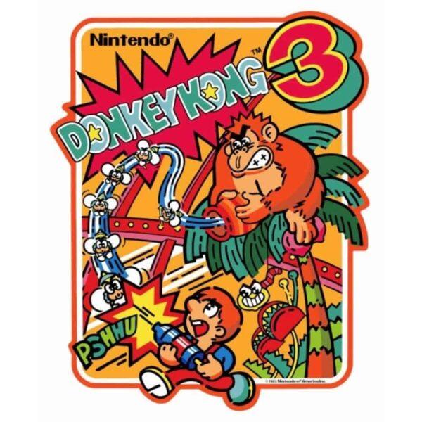 Donkey Kong 3 Sideart