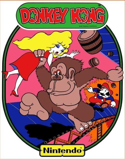 Donkey Kong Sideart