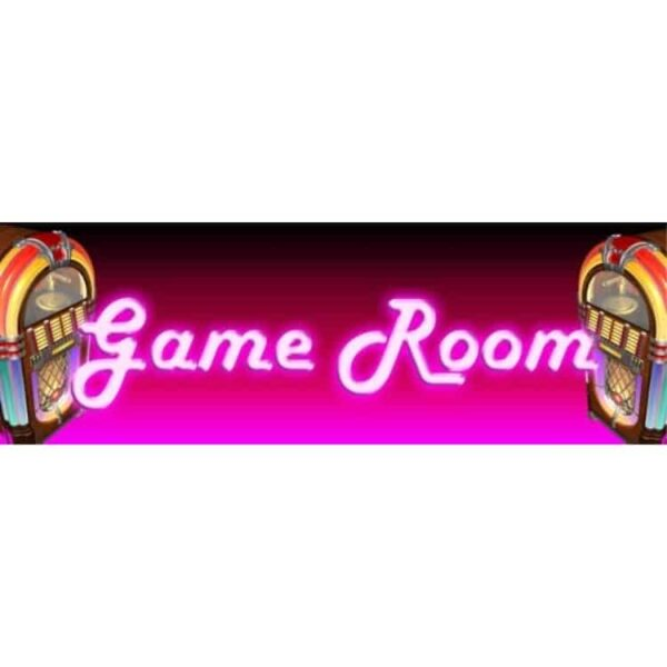 Game Room Marquee