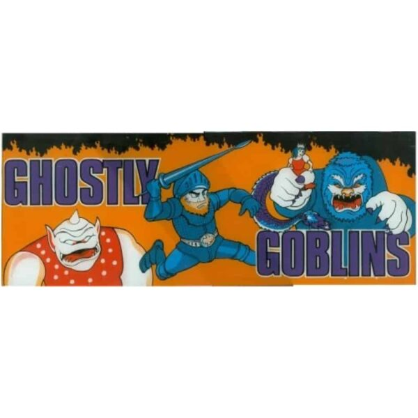 Ghostly goblins Marquee