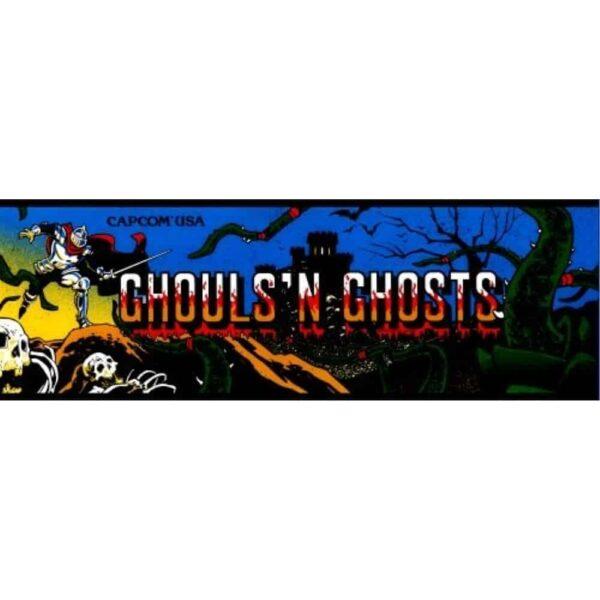 Ghouls N Ghosts Marquee