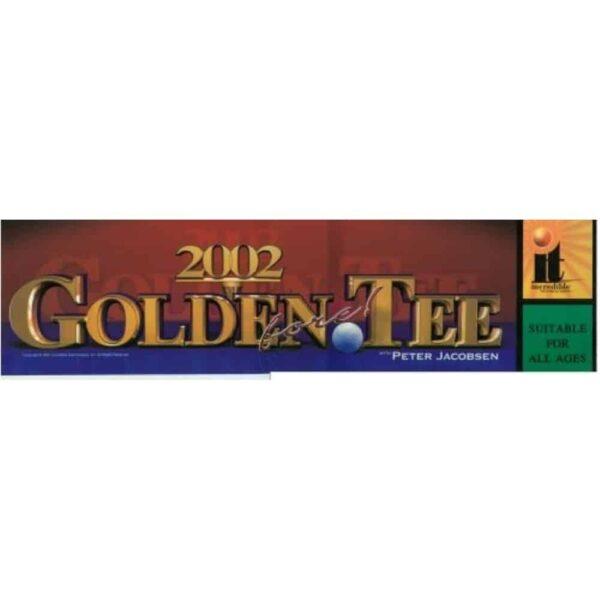 Golden tee 2002 Marquee