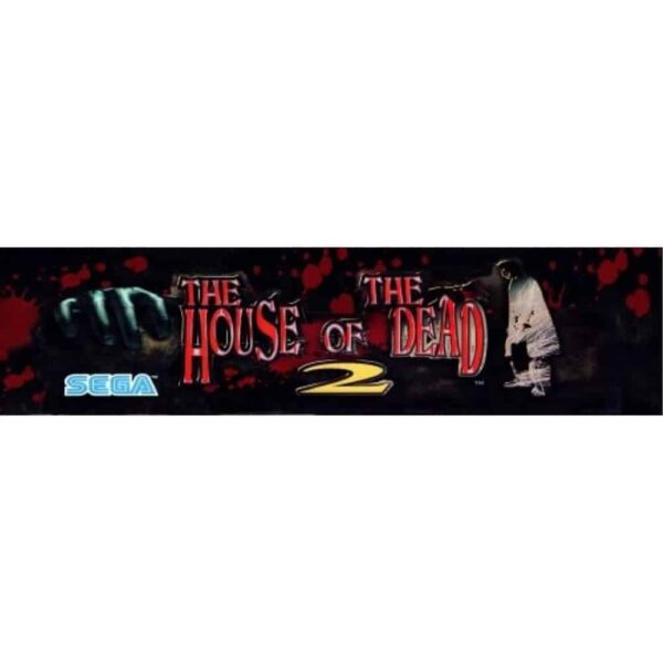 House of the Dead 2 Marquee in cab versn