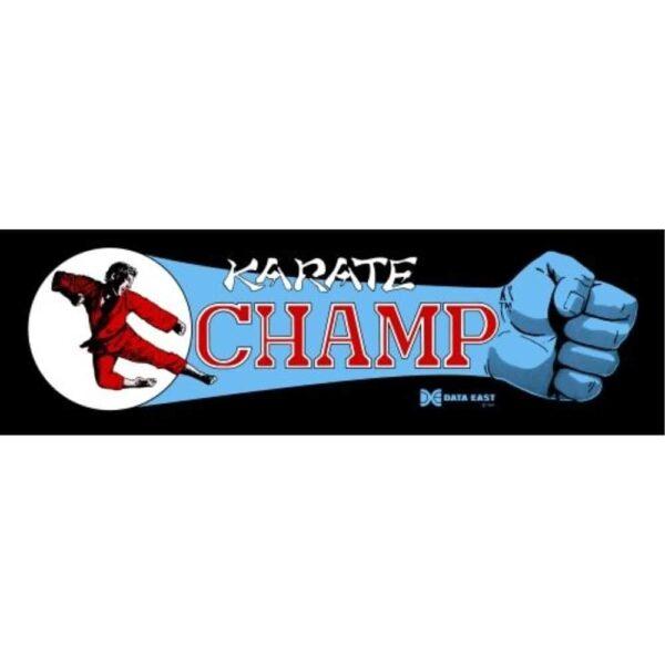 Karate Champ Marquee