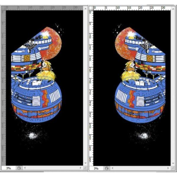 Lunar Landing Side art 1