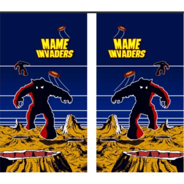 Mame Invader Side Art