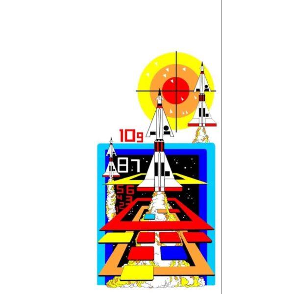 Missile Command Side art 1