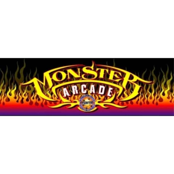 Monster Arcade Marquee