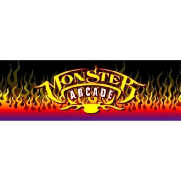 Monster Arcade no mame logo Marquee