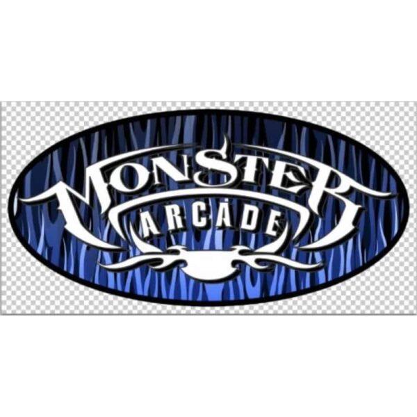 Monster Side Art Blue no logo