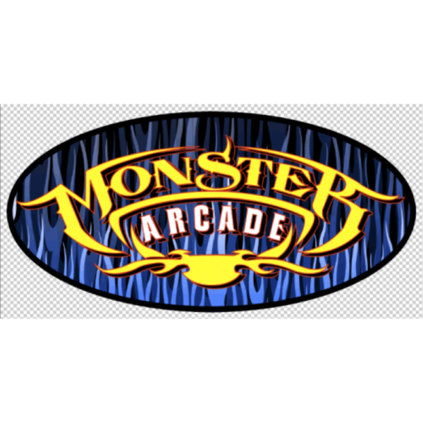 Monster Side Art Blue with yellow no logo