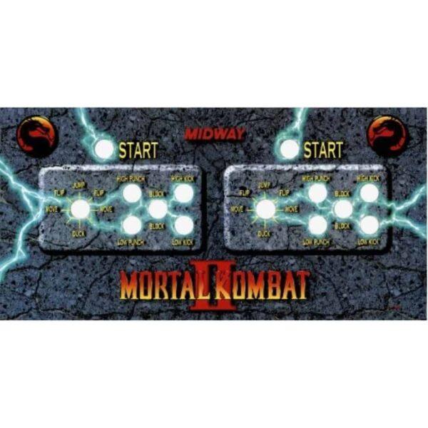 Mortal Kombat 2 CPO orig blue