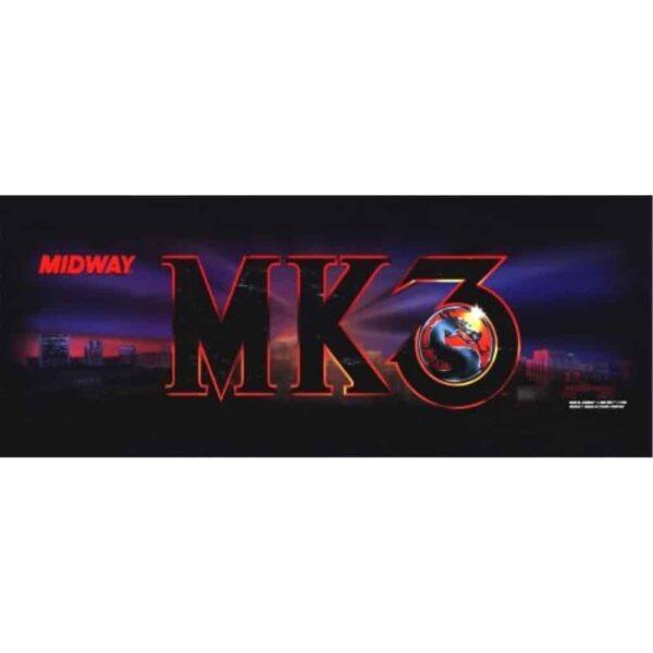 Mortal Kombat 3 Marquee