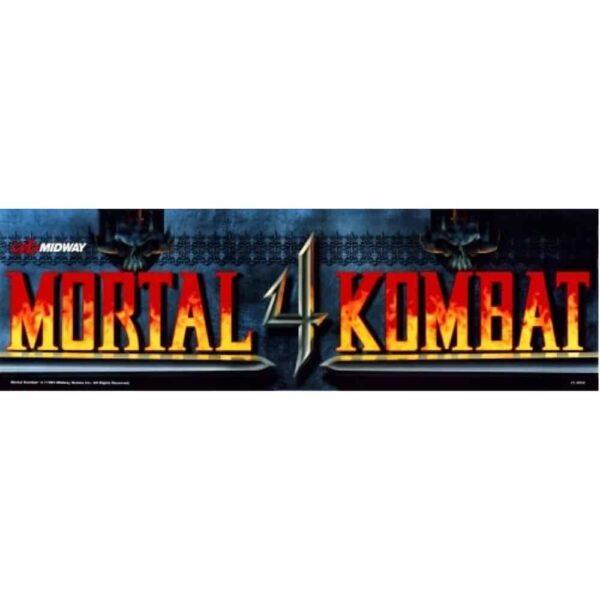 Mortal Kombat 4 Marquee