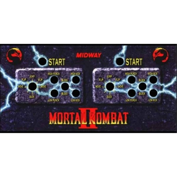 Mortal Kombat II CPO 2 player