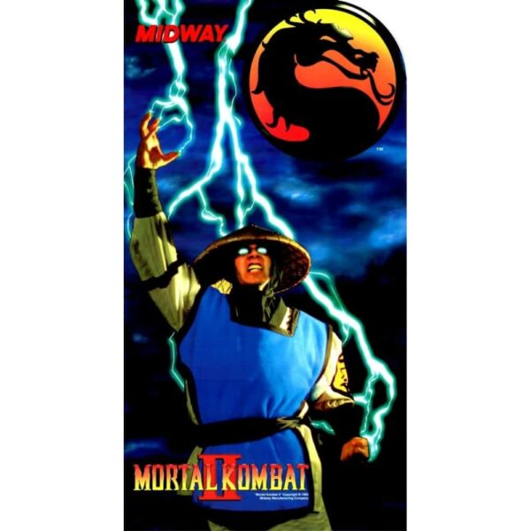 Mortal Kombat II Medallian Sideart 16x30 2