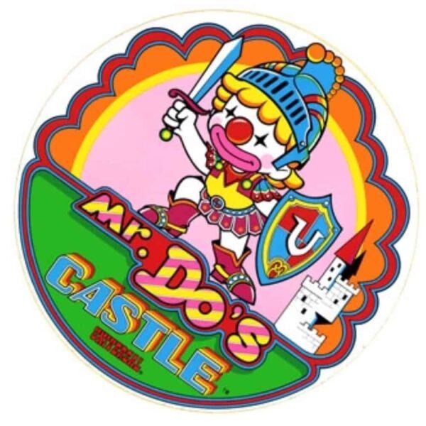 Mr Dos Castle side art 1