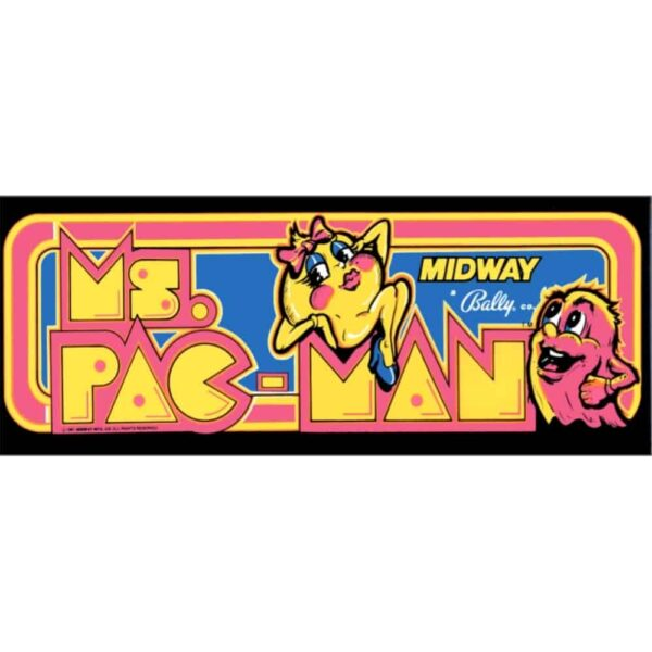 Ms Pacman Marquee