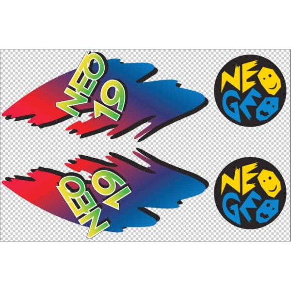 NeoGeo 19 Sideart Contour Cut Side Art 1
