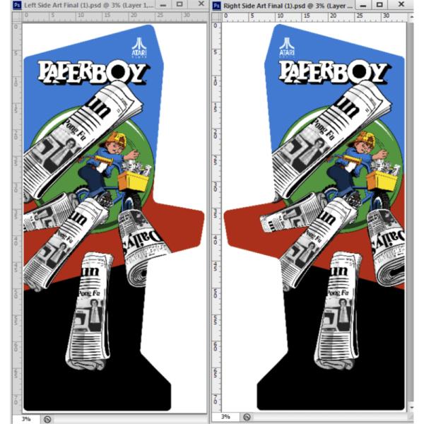 Paperboy sideart 1