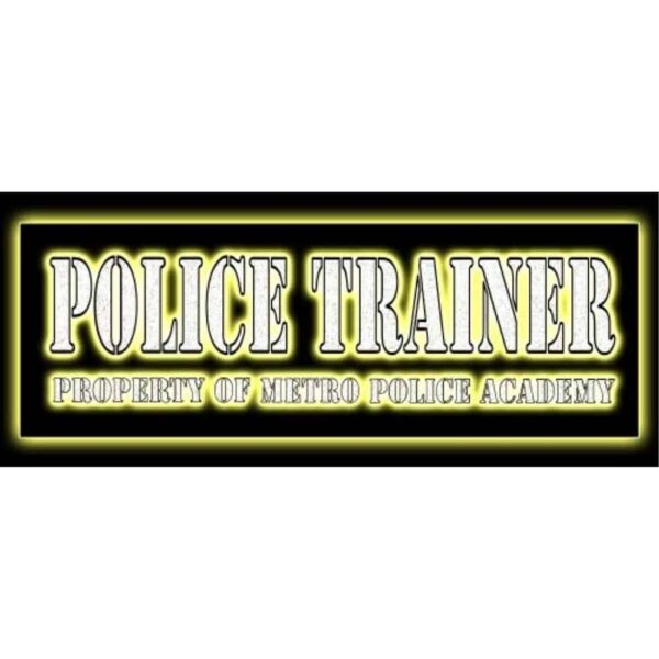 Police trainer sideart 1 1