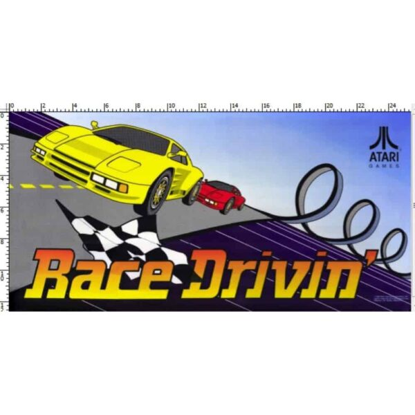 Race Drivin Marquee