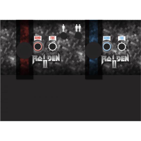 Raiden II 2 Control panel