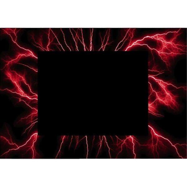 Red Lightning Bezel