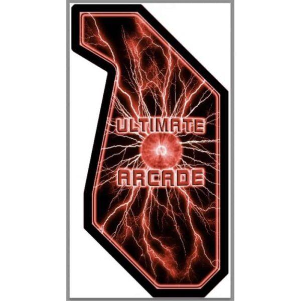 Red lightning Ultimate arcade Side Art 1