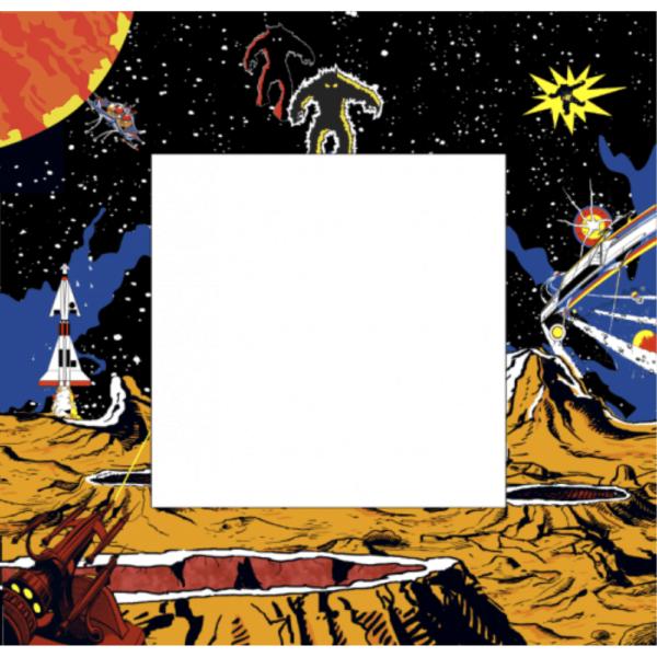Retro Space themed v1 Bezel