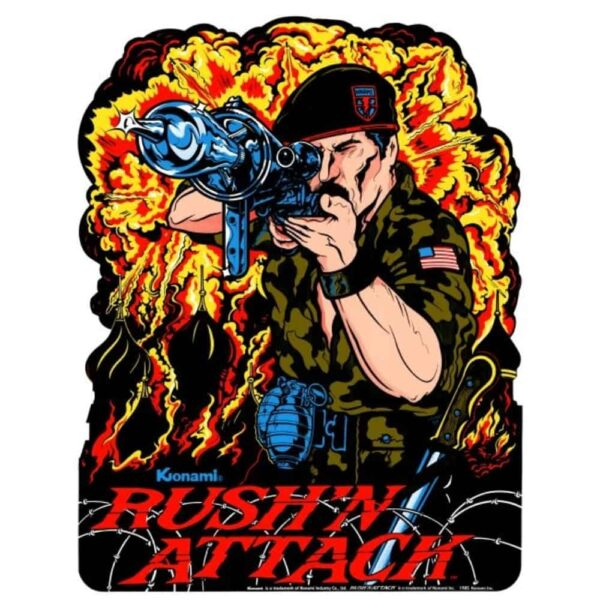 Rush N Attack or Green Beret Sideart 1